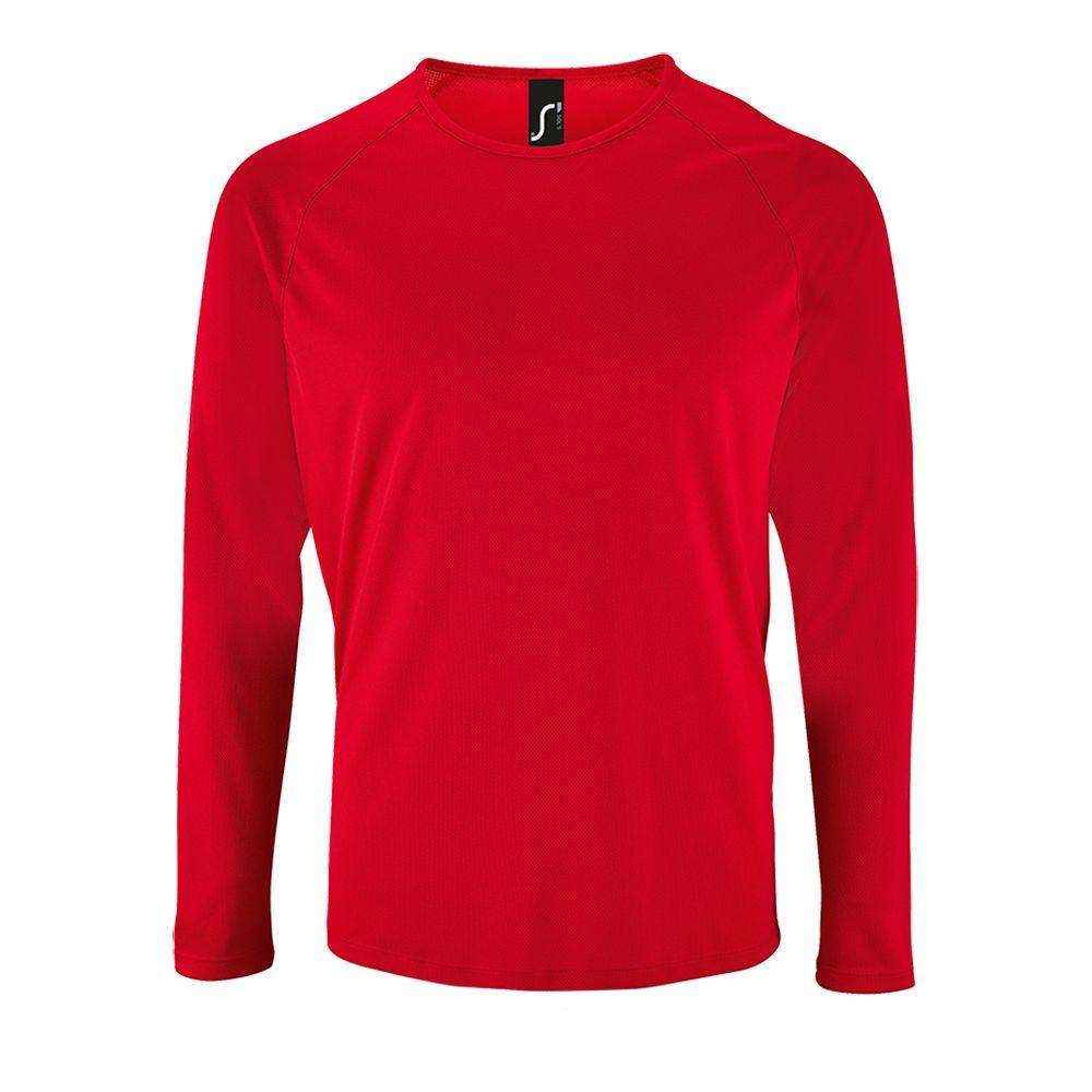 d467b50998f78 Артикул: P02071145 — Футболка с длинным рукавом SPORTY LSL MEN, красная