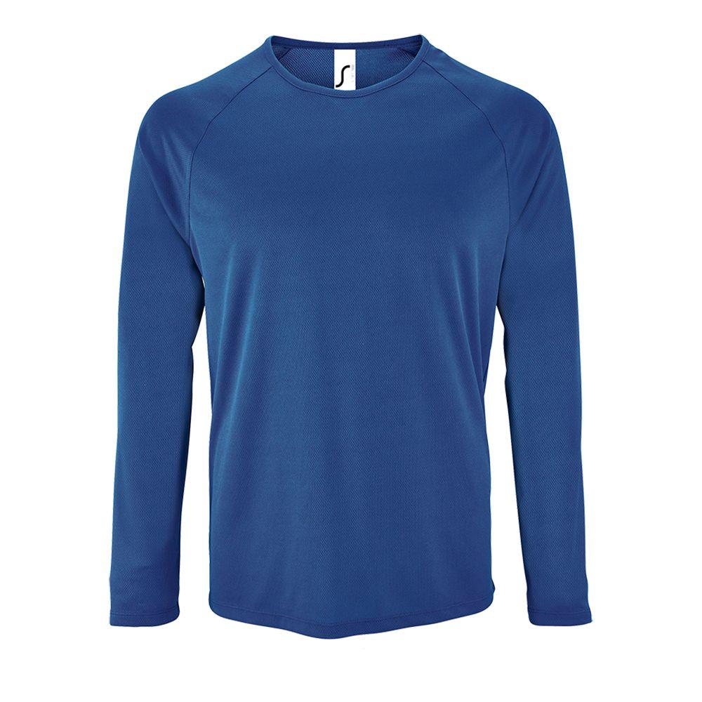 0b6d415bc65b9 Артикул: P02071241 — Футболка с длинным рукавом SPORTY LSL MEN, ярко-синяя