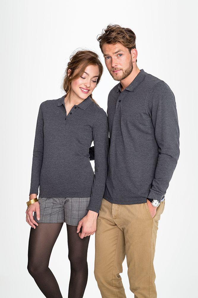 403804eb617 Рубашка поло мужская с длинным рукавом PERFECT LSL MEN