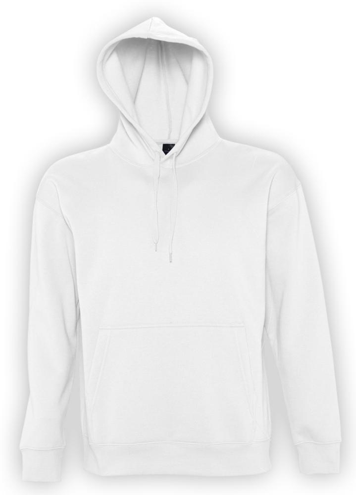 264d956e Толстовка с капюшоном SLAM 320, белая, фирмы «Sols» - P2401.60 с ...