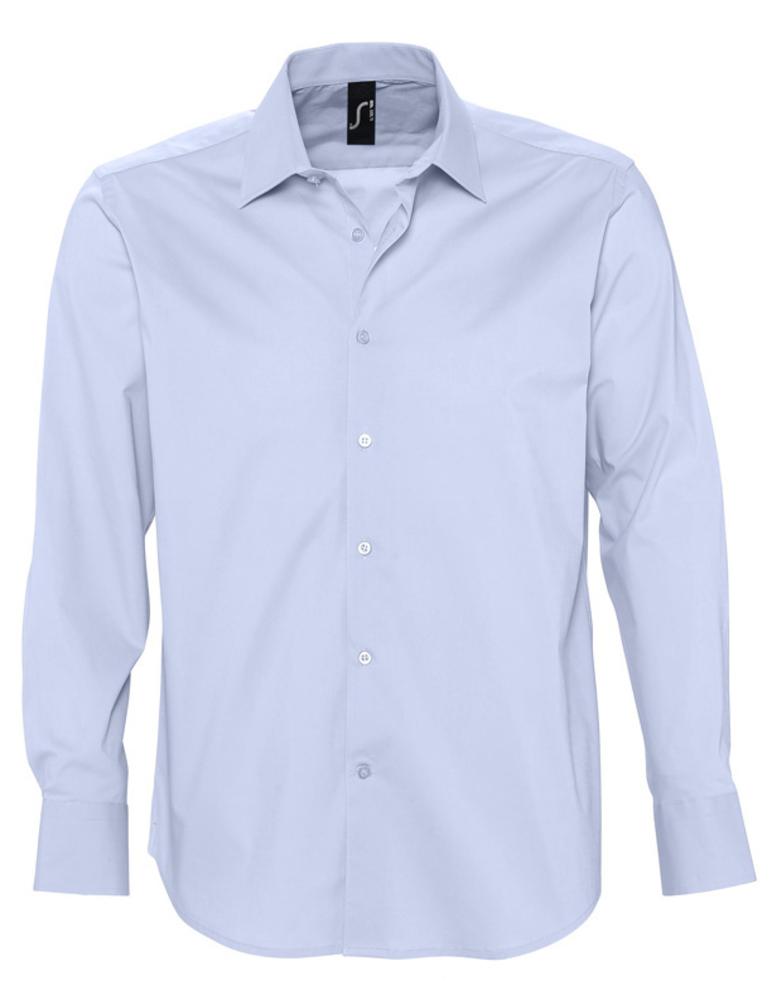 b05faa24948cd3c Артикул: P2508.14 — Рубашка мужская с длинным рукавом BRIGHTON, голубая
