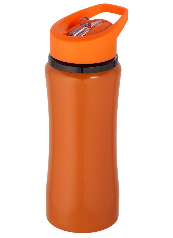 спортивная бутылка оранжевая