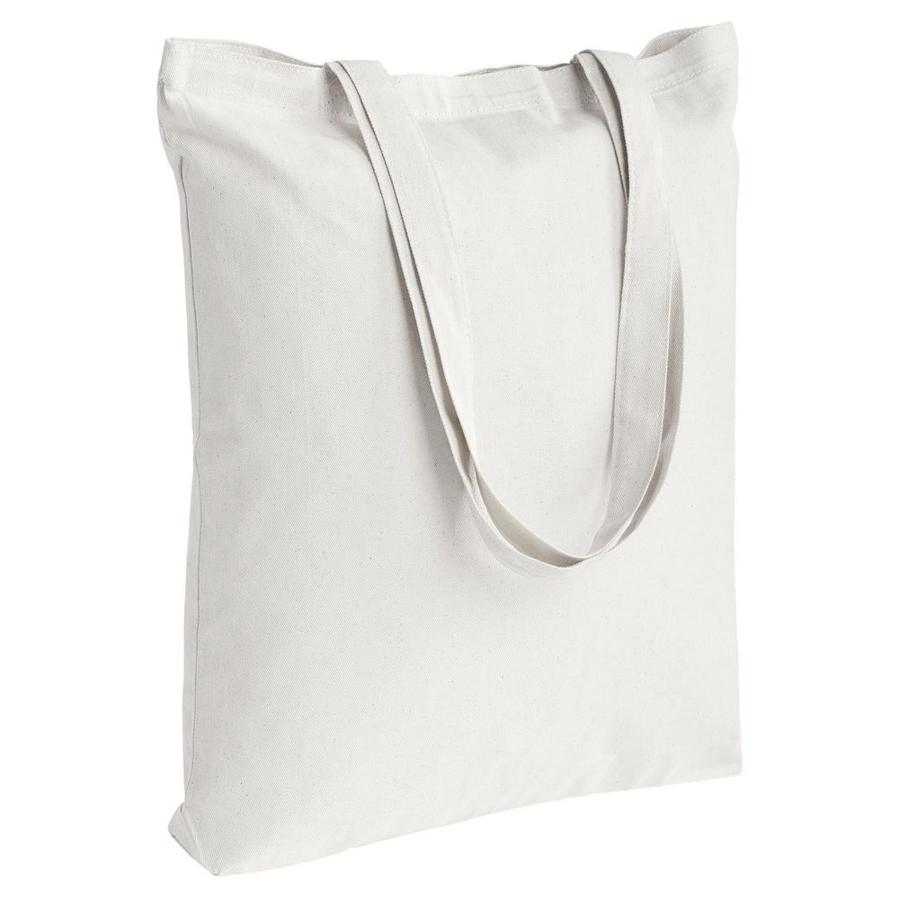 c54ae61dbd87 Холщовая сумка Strong 210, белая - P5253.60 с нанесением логотипа на ...
