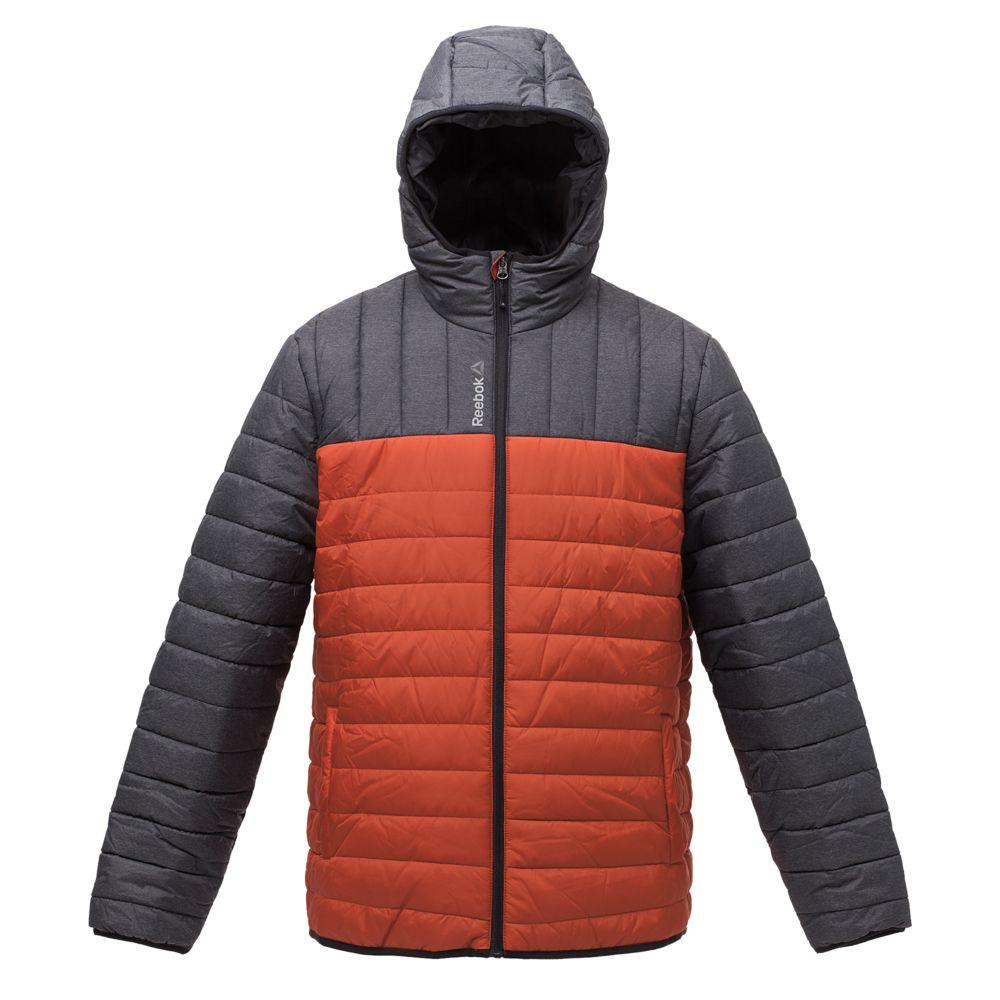 a1b1969f3995 Куртка мужская Outdoor, серая с оранжевым, фирмы «Reebok» - P5745.32 ...