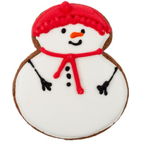 Печенье Sweetish Snowman, красное (P12918.15)